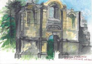 Abbaye saint Maurice nov 2016