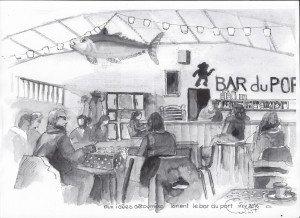 Bar du port lundi  28 novembre
